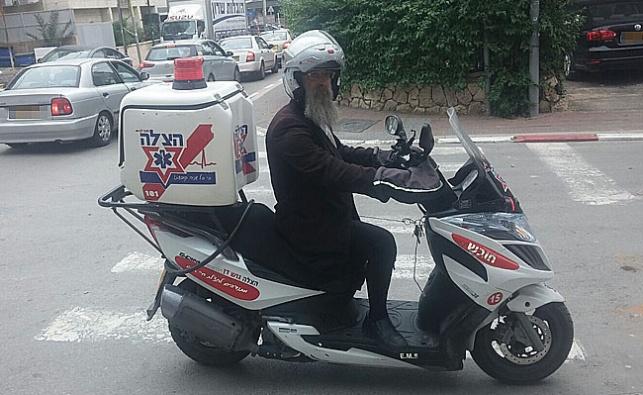יהודה לונדנר והאופנוע