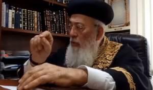 """הגר""""ש עמאר: 'בג""""ץ הטיל אימה על הרבנים'"""