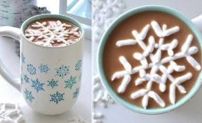 מרשמלו תוצרת בית בצורת פתיתי שלג מקסימים - צפו: השלג לא מגיע? אז נכין אותו בעצמנו