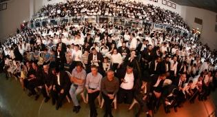 אלפים חגגו עם מעייני הישועה ומאוחדת