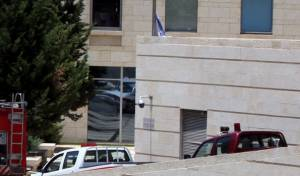 הכניסה למשרד החוץ בירושלים