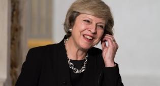 תרזה מיי, ראש ממשלת בריטניה - טראמפ ביקש, תרזה קיימה: הוועידה נוטרלה