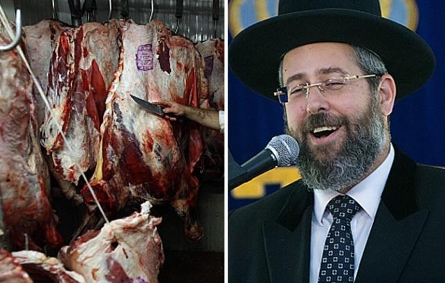 הרב הראשי דוד לאו ושחיטת בשר