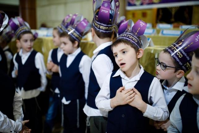 מסיבת חומש לתלמידי כיתה א' במוסקבה