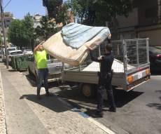 השוטרים התגייסו לטובת בית הכנסת הזנוח