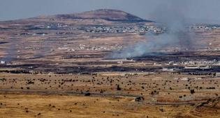 """הירי בסוריה, ארכיון - רקטה סורית נפלה ברמת הגולן: צה""""ל תקף בתגובה"""