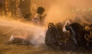 המחאה בירושלים. למצולמים אין קשר לנאמר בכתבה