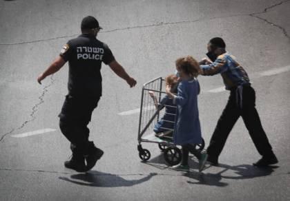 שוטר וחרדים, בירושלים