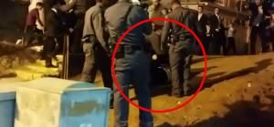 """אלימות השוטרים בהפגנת 'הפלג' בב""""ב. צפו"""