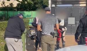 בני 16 נתפסו על אופנועי שטח ללא רישיון