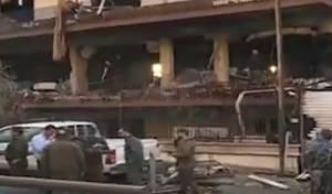 הבניין שהותקף בסוריה