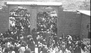 """חגיגות ל""""ג בעומר במירון, ב-1939"""