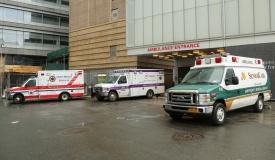 תנדבים החסידיים הורחקו מבית החולים