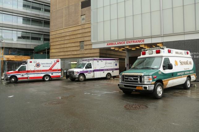 חזית בית החולים