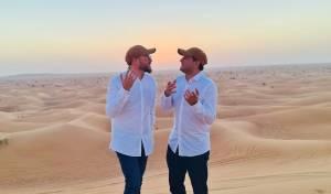 שוקי סלומון וחיים ישראל שרים בדובאי: 'שירת הבקשות'