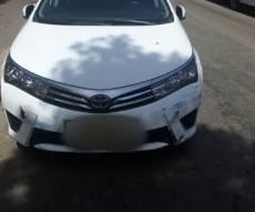 """הרכב בו נמלטו החשודים - שני תושבי ב""""ב הפעילו מעבדת סמים בפ""""ת"""