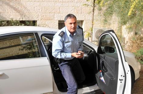 """מפכ""""ל המשטרה יוחנן דנינו - כתב אישום יוגש נגד נהג המפכ""""ל"""