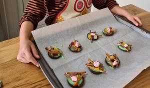 עוגיות בצורת מדורה
