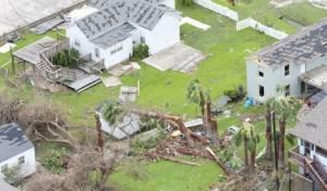 ההרס כתוצאה מהסופה - ישראל תעביר מיליון דולר ליהודים ביוסטון
