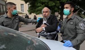 פרידמן בעת מעצרו