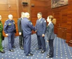 """מפקד חיה""""א נפגש עם בכירי הצבא הרוסי"""