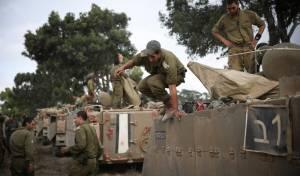 חיילים על גבול הרצועה