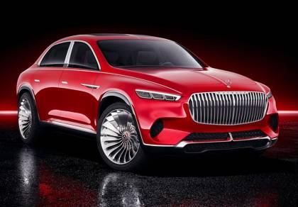 """""""vision mercedes maybach ultimate luxury"""" - רכב הכביש שטח הראשון של מאיבאך נחשף"""
