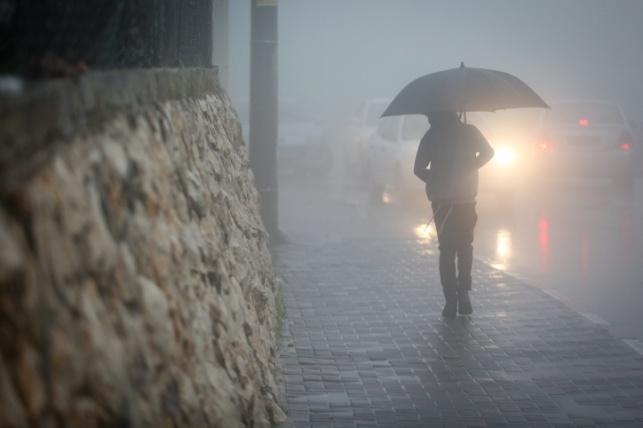 התחזית: גשם בכל הארץ, חשש לשיטפונות