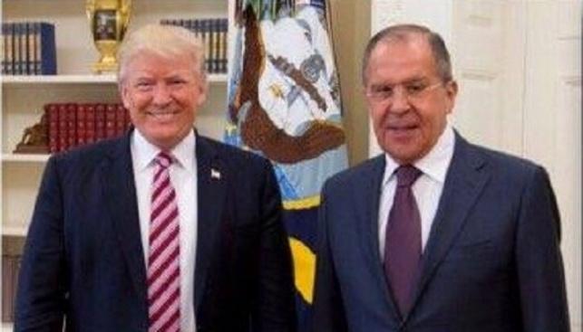 טראמפ ולברוב בפגישה אתמול