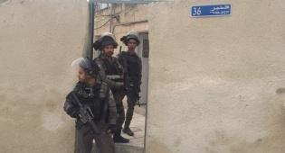 המשטרה נערכת לאטימת בית המחבל. צפו