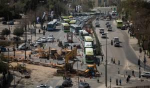 נתקעתם בפקקים בירושלים? זו הסיבה • צפו