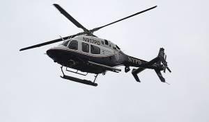 מסוק משטרה בניו יורק - ה-FBI חושד: רייכברג ארגן שני מסוקי משטרה מעל היאכטה