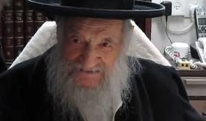 צפו: התיעוד האחרון של הרב וואזנר