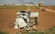 """""""עמדת"""" חמאס שהופצצה"""