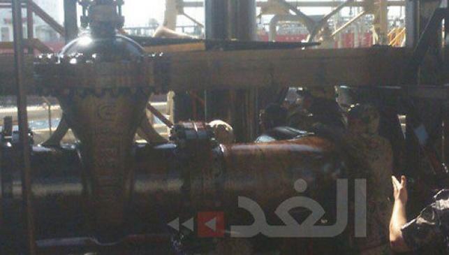 קו הנפט שניזוק