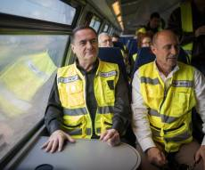 כץ בנסיעת מבחן בקו - רציתם לנסוע ברכבת המהירה? תחכו הרבה