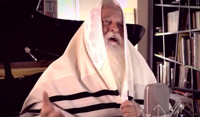 דוד רפאל בן עמי מבצע מניגוני הרב גינזבורג