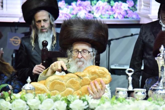סעודת הישועות היוקרתית במוצאי שבת בזלאטשוב נתניה