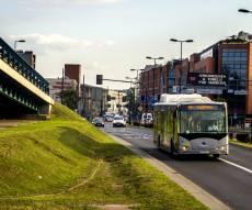 אוטובוס חשמלי של BYD בפולין