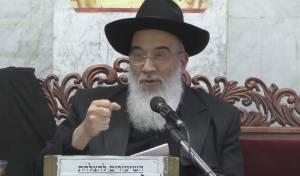 הרב יעקב שכנזי בשיעור מיוחד על  זהירות בין אדם לחבירו
