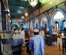 תיעוד בלעדי: 'הושענא רבה' בתוניס • צפו