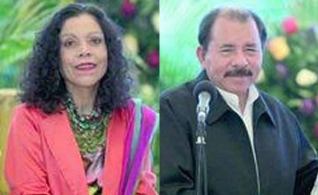 נשיא ניקרגואה בחר לסגנית שלו את... אשתו