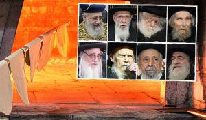 גדולי ישראל ואפיית המצות