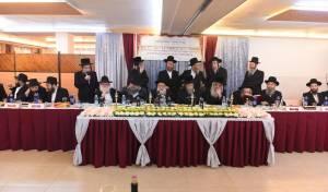 """האדמו""""רים הגיעו לכינוס של 'מעייני ישראל'"""