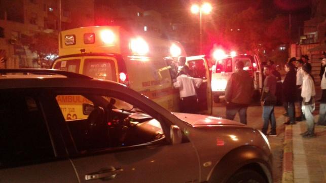 התאונה הערב באלעד