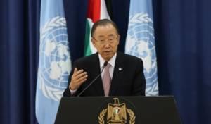 """מזכ""""ל האו""""ם: עומד מאחרי דברי נגד הכיבוש"""