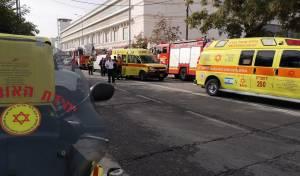 שני נפגעים במצב קשה בשריפה בתלפיות