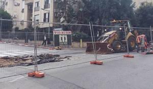 """העבודות ברחוב חזון איש - הדובר: """"חובה וזכות לנו לבצע את העבודות"""""""
