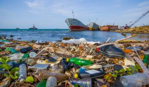 פסולת בים. אילוסטרציה