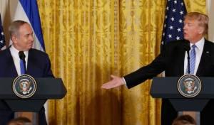 """טראמפ ונתניהו. ארכיון - פוטין: בעלות ברית של ארה""""ב - בובות סיניות"""